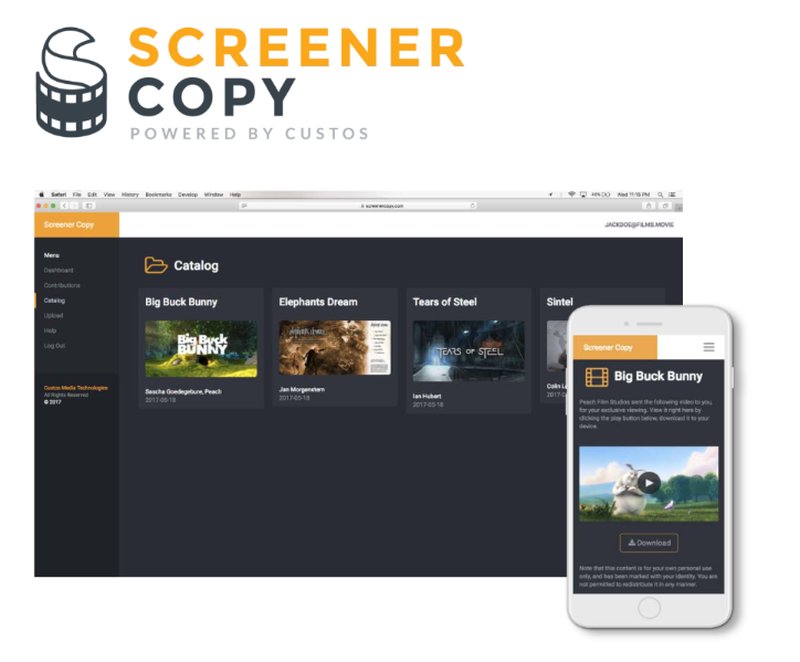 Screener Copy by Custos- Product Screenshot